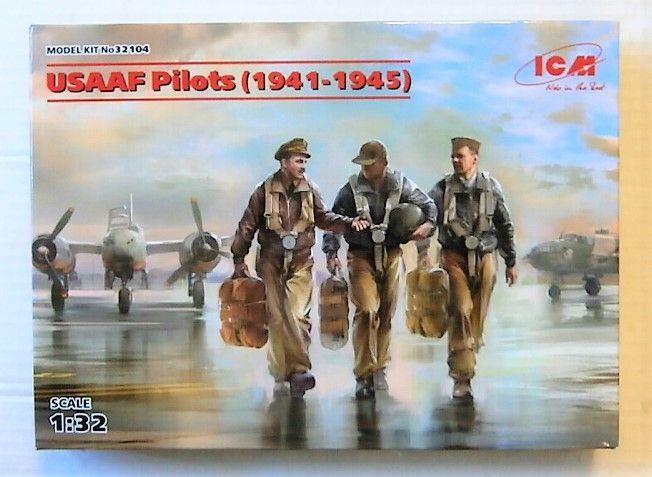 ICM 1/32 32104 USAAF PILOTS 1941-1945