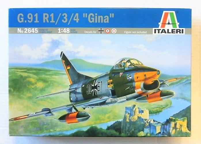 ITALERI 1/48 2645 G.91 R1/3/4 GINA