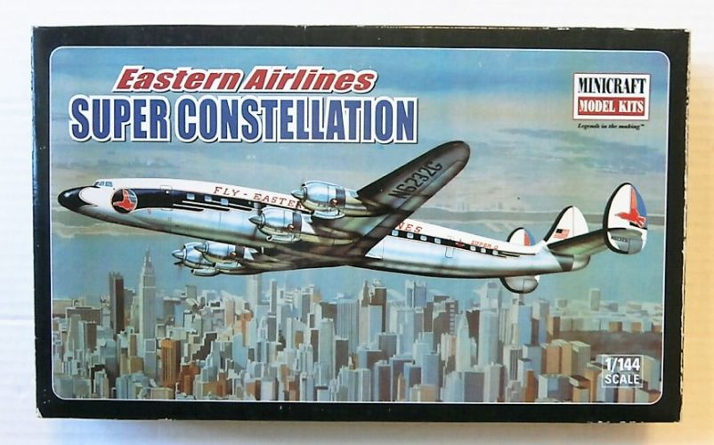 MINICRAFT 1/144 14491 EASTERN AIRLINES SUPER CONSTELLATION
