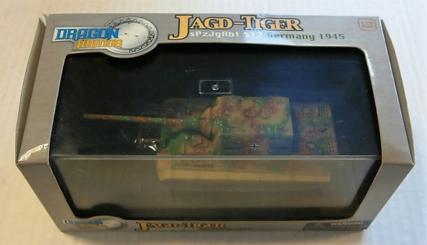 DRAGON 1/72 60013 JAGD-TIGER sPzJgAbt 512 GERMANY 1945