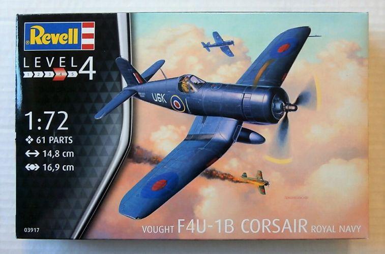 REVELL 1/72 03917 VOUGHT F4U-1B CORSAIR  ROYAL NAVY