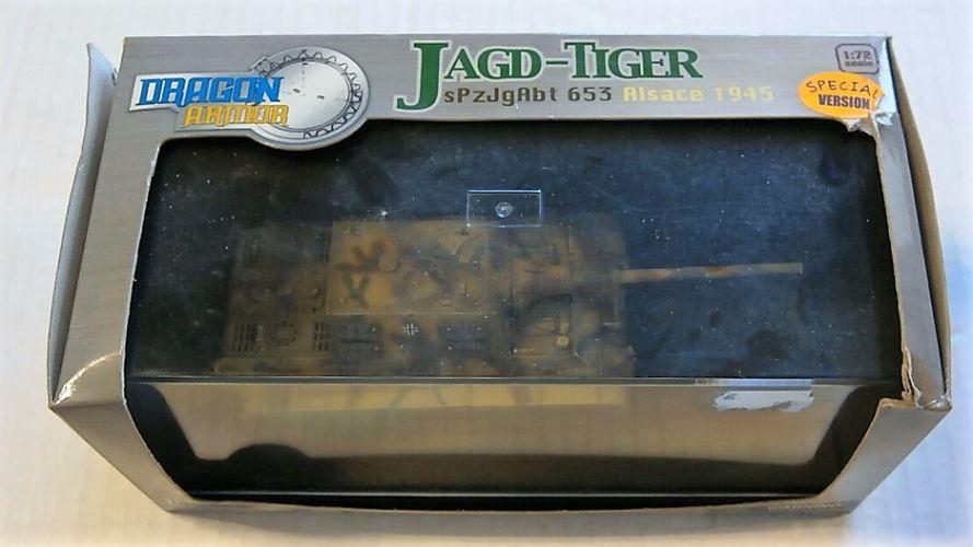 DRAGON 1/72 60014 JAGD-TIGER sPzJgAbt 653 ALSACE 1945