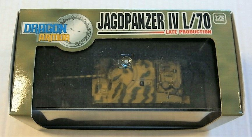 DRAGON 1/72 60232 JAGDPANZER IV L/70 LATE PRODUCTION