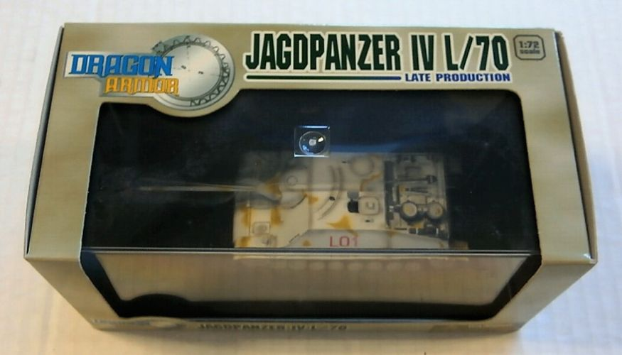 DRAGON 1/72 60231 JAGDPANZER IV L/70 LATE PRODUCTION