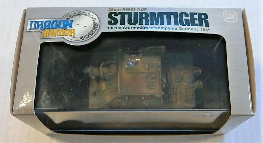 DRAGON 1/72 60026 38cm RW61 AUF STURMTIGER 1001ST STURMMORSER KOMPANIE GERMANY 1945