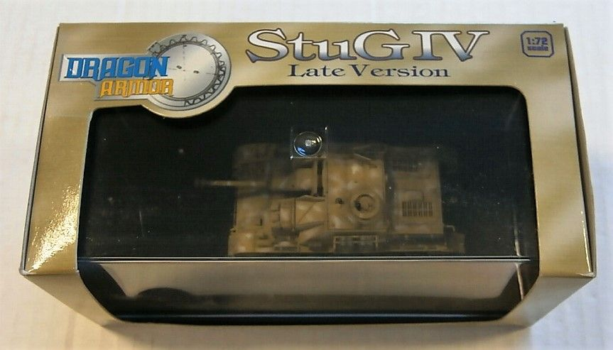 DRAGON 1/72 60118 STUG IV LATE VERSION