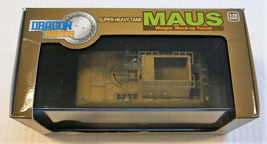 DRAGON 1/72 60156 SUPER HEAVY TANK MAUS