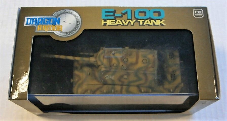 DRAGON 1/72 60155 E-100 HEAVY TANK