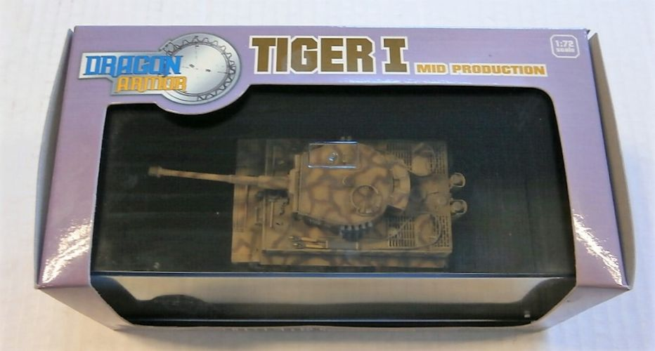DRAGON 1/72 60019 TIGER I MID PRODUCTION sPzAbt 509 1944