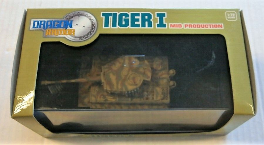 DRAGON 1/72 60020 TIGER I MID PRODUCTION sPzAbt 508 MARCH 1944