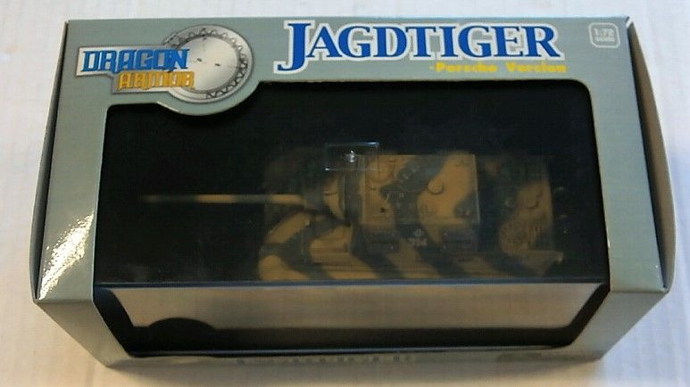 DRAGON 1/72 60128 JAGDTIGER PORSCHE VERSION 3/sPzJgAbt 653 GERMANY 1945