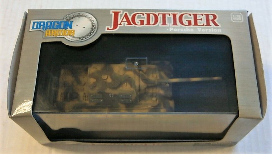 DRAGON 1/72 60127 JAGDTIGER PORSCHE VERSION GERMAN 1945