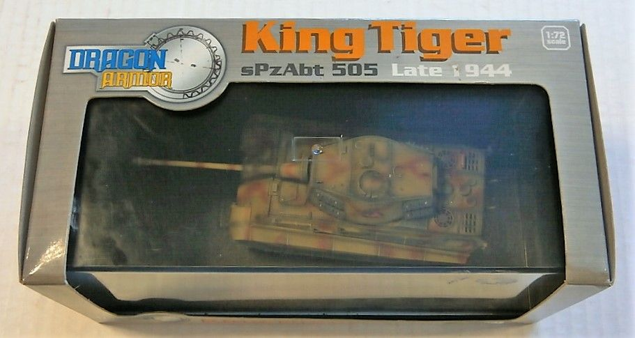 DRAGON 1/72 60003 KING TIGER sPzAbt 505 LATE 1944