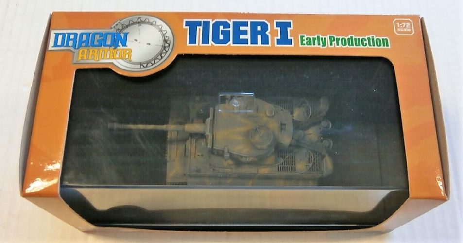 DRAGON 1/72 60098 TIGER I EARLY PRODUCTION DAS REICH RUSSIA 1943