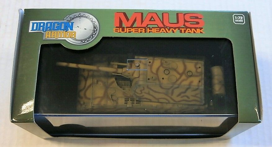 DRAGON 1/72 60154 MAUS SUPER HEAVY TANK