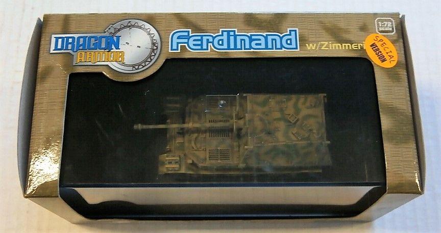 DRAGON 1/72 60124 FERDINAND W/ZIMMERIT EASTERN FRONT 1943