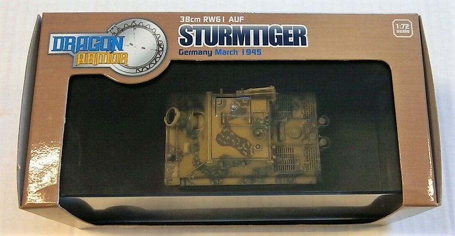 DRAGON 1/72 60114 38cm RW61 AUF STURMTIGER GERMANY MARCH 1945