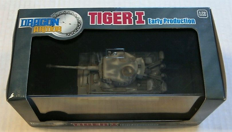 DRAGON 1/72 60097 TIGER I EARLY PRODUCTION RUSSIA 1943