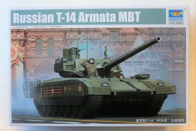 TRUMPETER 1/35 09528 RUSSIAN T-14 ARMATA MBT