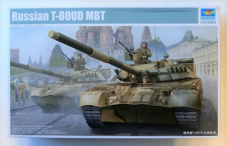 TRUMPETER 1/35 09527 RUSSIAN T-80UD MBT