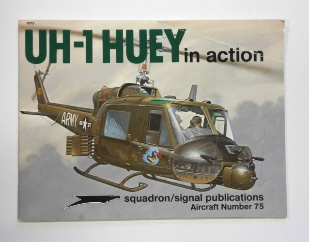 SQUADRON/SIGNAL AIRCRAFT IN ACTION  1075. UH-1 HUEY