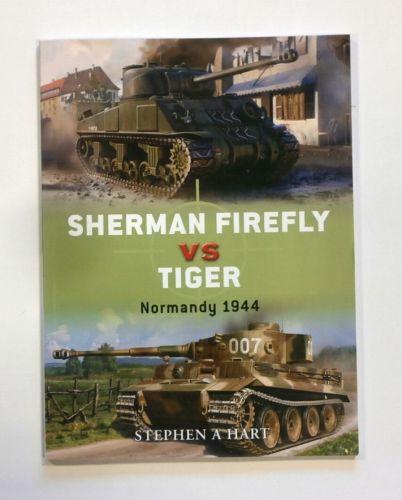 CHEAP BOOKS  ZB1815 OSPREY DUEL NO 2 - SHERMAN FIREFLY VS TIGER NORMANDY 1944