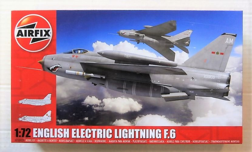 AIRFIX 1/72 05042A ENGLISH ELECTRIC LIGHTNING F.6