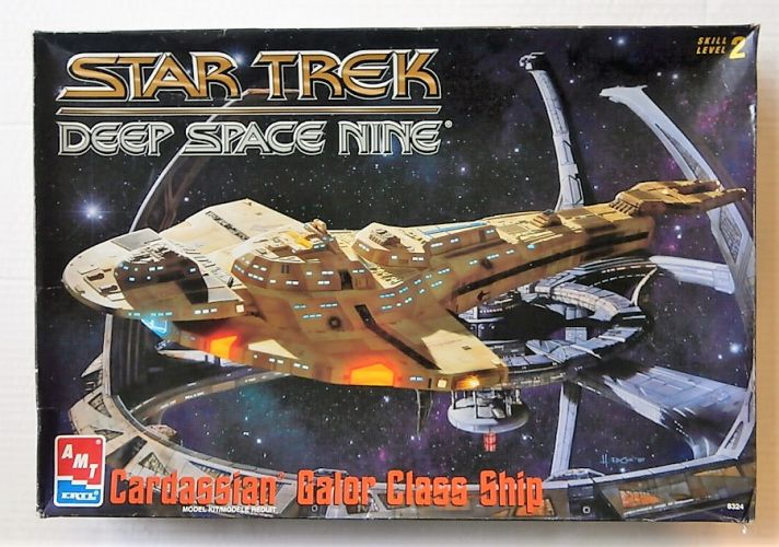 AMT  8324 STAR TREK DEEP SPACE NINE CARDASSIAN GALOR CLASS SHIP