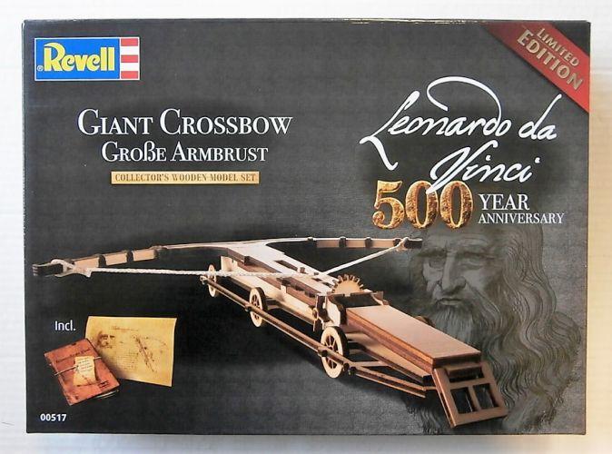REVELL 1/100 00517 LEONARDO DA VINCI 500 YEAR ANNIVERSARY GIANT CROSSBOW