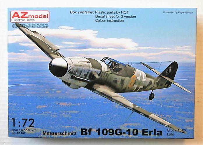 AZ MODEL 1/72 7611 MESSERSCHMITT BF 109G-10 ERLA