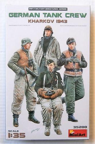 MINIART 1/35 35280 GERMAN TANK CREW KHARKOV 1943