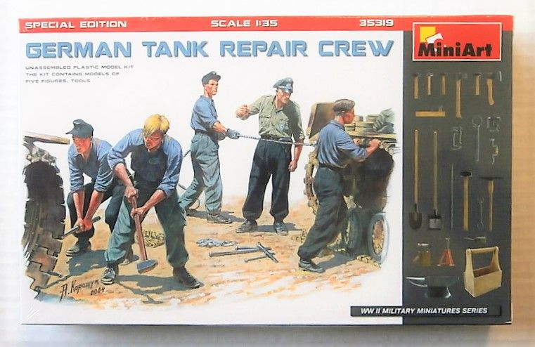 MINIART 1/35 35319 GERMAN TANK REPAIR CREW