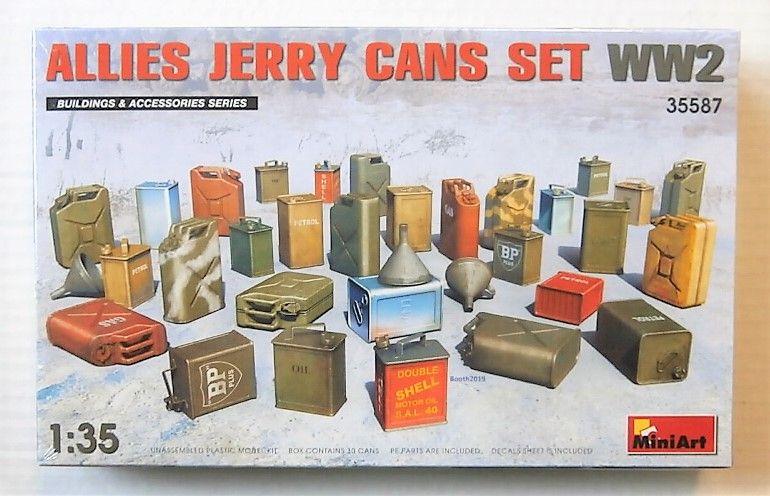 MINIART 1/35 35587 ALLIES JERRY CAN SET WW2