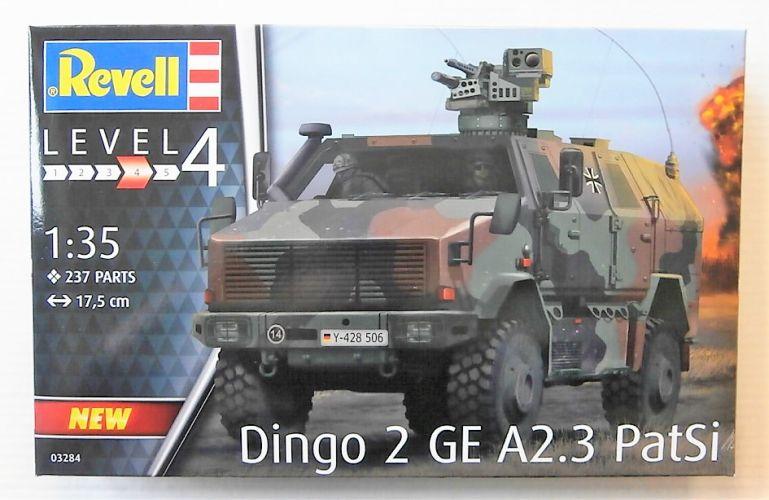 REVELL 1/35 03284 DINGO 2 GE A2.3 PATSI
