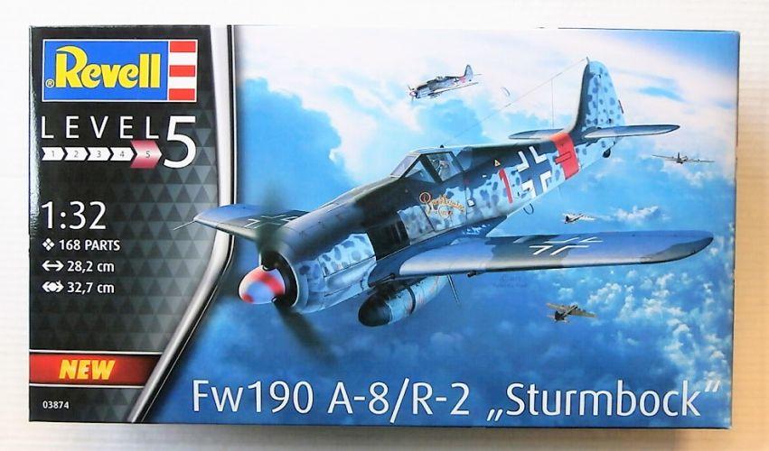 REVELL 1/32 03874 FW 190 A-8/ R-2 STURMBOCK