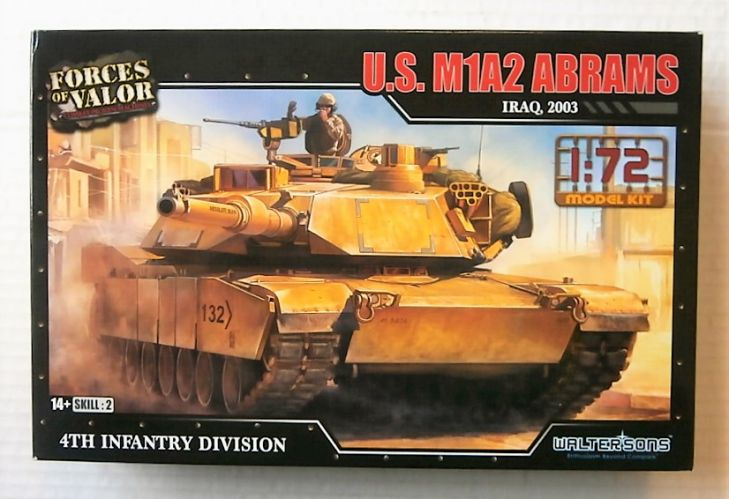 FORCES OF VALOR 1/72 873005A U.S. M1A2 ABRAMS IRAQ 2003