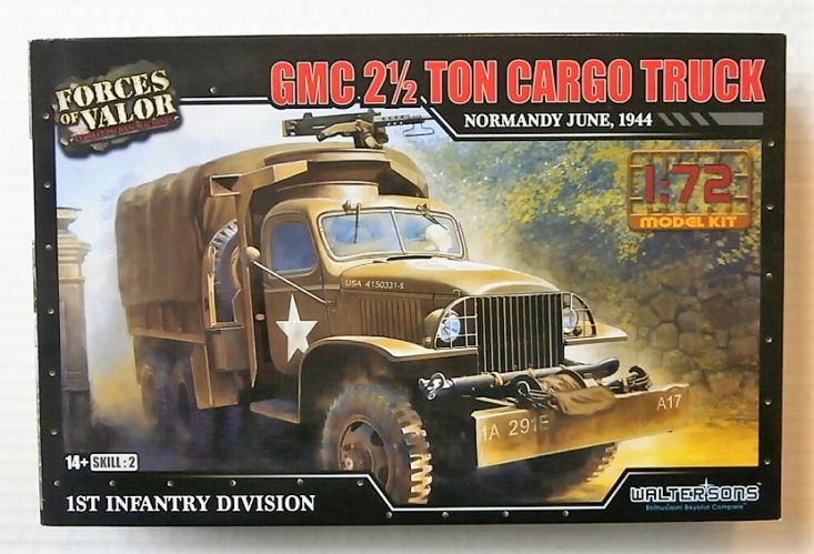 FORCES OF VALOR 1/72 873006A GMC 2 1/2 TON CARGO TRUCK NORMANDY JUNE 1944