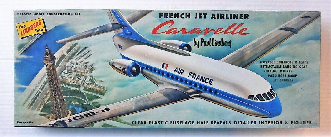 LINDBERG  553 CARAVELLE AIR FRANCE