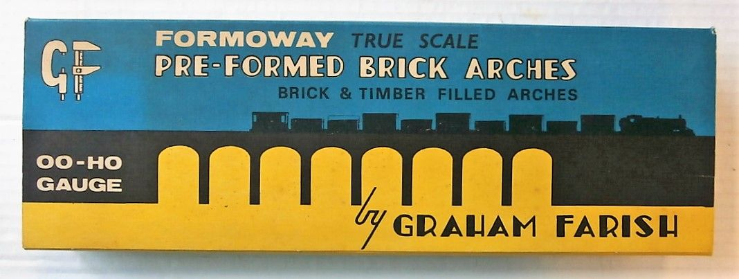 GRAHAM FARISH HO/OO FORMOWAY PRE-FORMED BRICK ARCHES