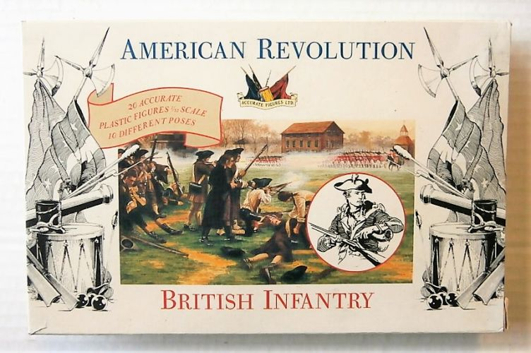 ACCURATE FIGURES 1/32 AMERICAN REVOLUTION BRITISH INFANTRY