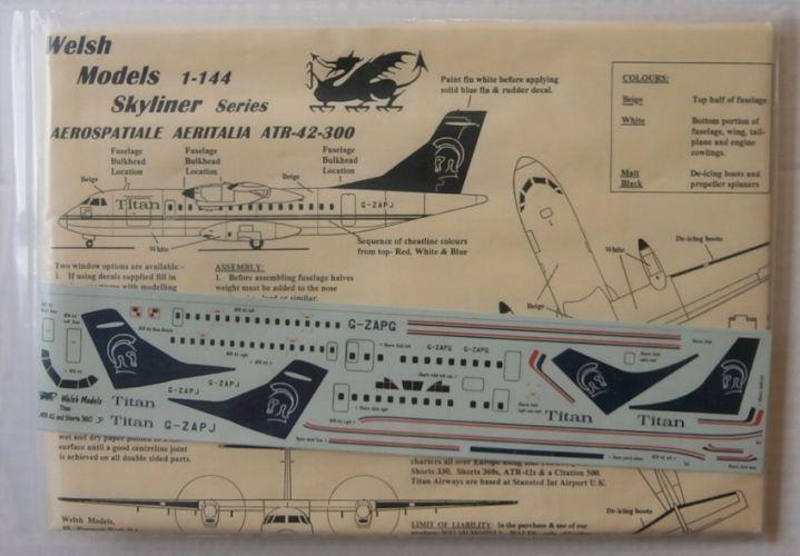 WELSH MODELS 1/144 AEROSPATIALE AERITALIA ATR-42-300