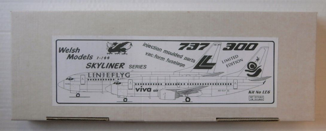 WELSH MODELS 1/144 LE6 737-300 LINJEFLYG