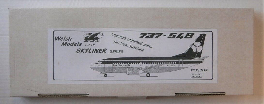 WELSH MODELS 1/144 SL47 737-548 AERLINGUS