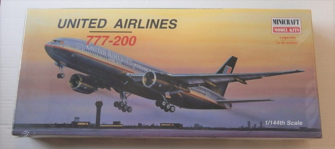 MINICRAFT 1/144 14483 UNITED AIRLINES 777-200
