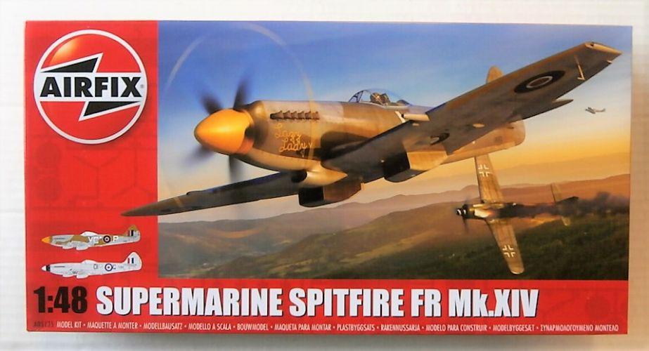 AIRFIX 1/48 05135 SUPERMARINE SPITFIRE FR Mk.XIV