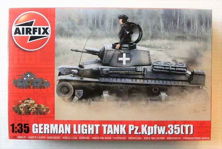 AIRFIX 1/35 1362 GERMAN LIGHT TANK Pz.Kpfw.35t