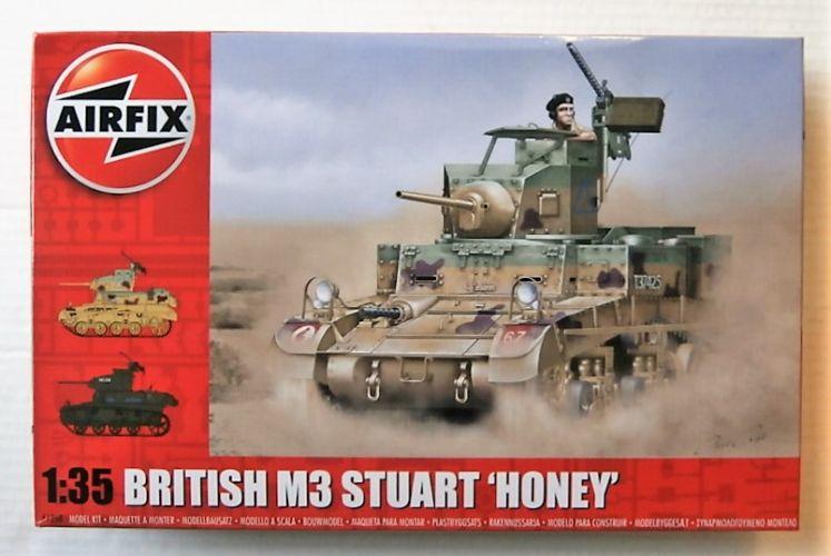 AIRFIX 1/35 1358 BRITISH M3 STUART HONEY