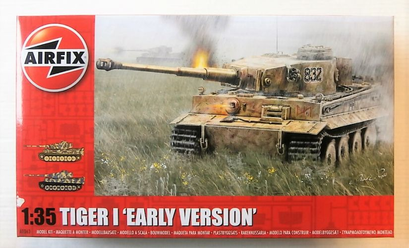 AIRFIX 1/35 1363 TIGER I EARLY VERSION