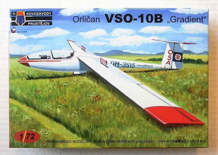 KP 1/72 0134 ORLICAN VSO-10B GRADIENT