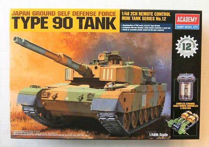 ACADEMY 1/48 13305 JGSDF TYPE 90 TANK